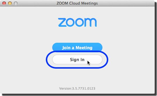 Zoom App for iPhone