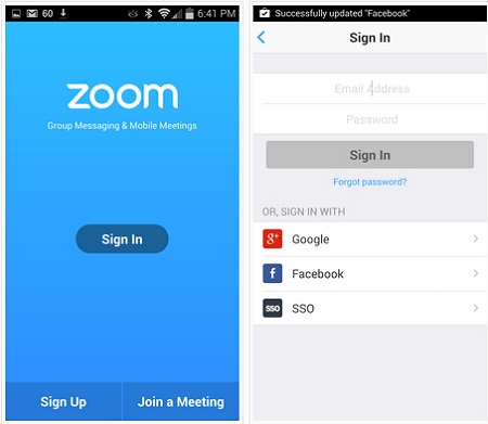 Zoom for iOS
