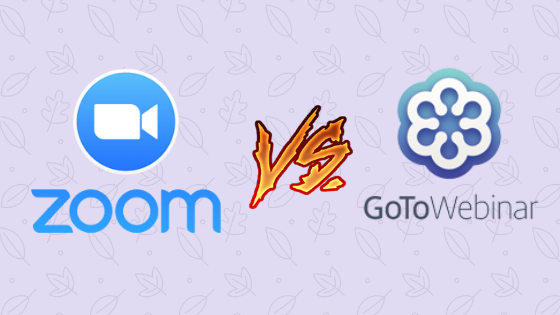 Zoom vs GoToWebinar
