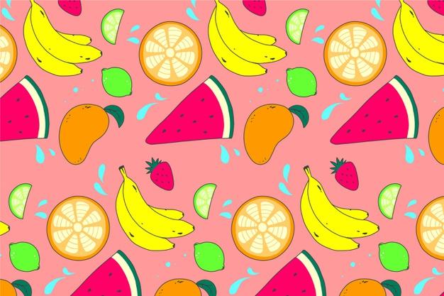 Fruits Zoom Background