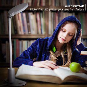 Desk Lamp, JUKSTG 64 pcs LEDs Eye-Caring Table Lamps