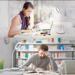 Miady LED Desk Lamp Eye-Caring Table Lamp