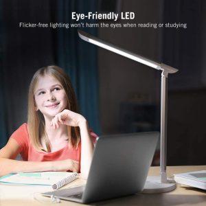 TaoTronics LED Desk Lamp, Eye-caring Table Lamps