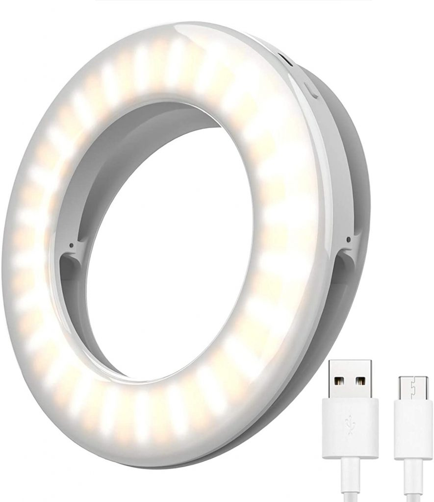 Selfie Ring Light for Phone and Laptop