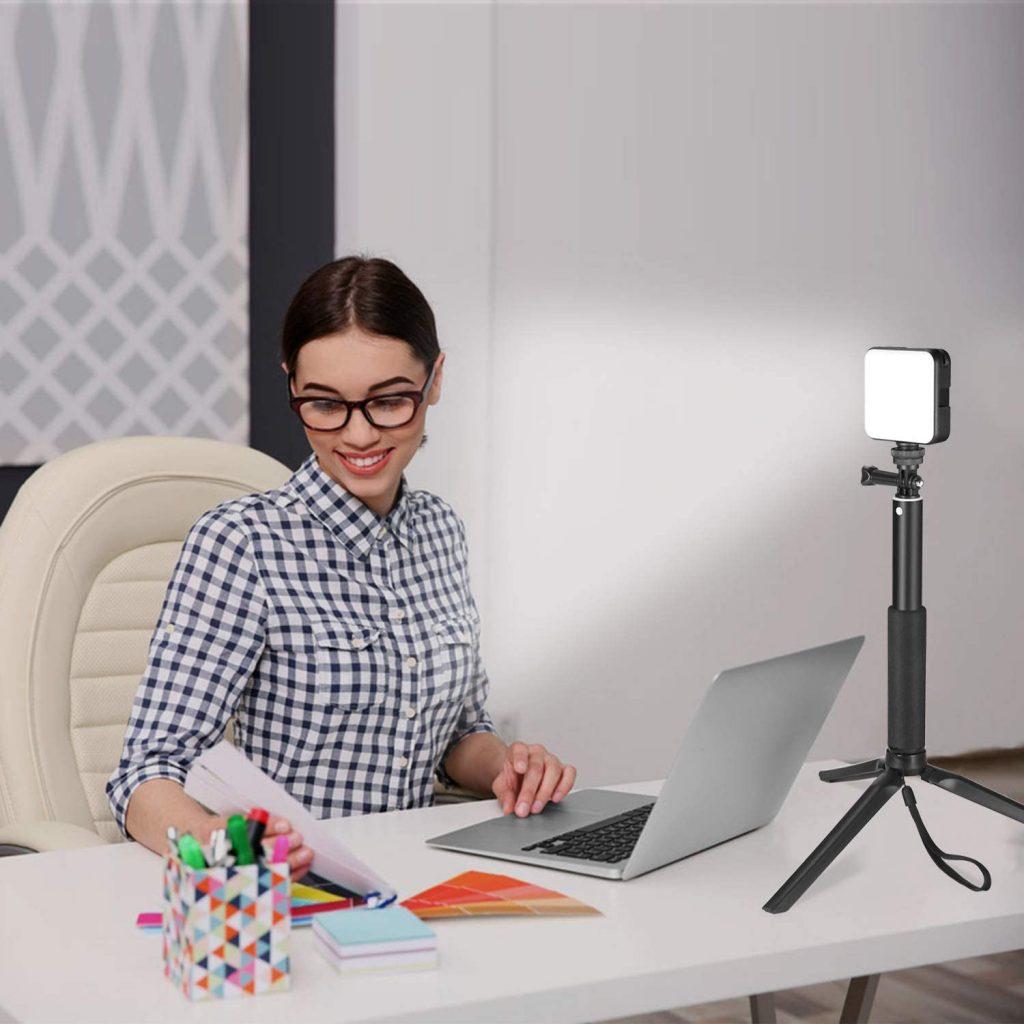 Cube Laptop Computer Webcam Light for Self Broadcast
