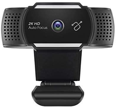 Aluratek 2K Ultra HD Webcam with Auto Focus