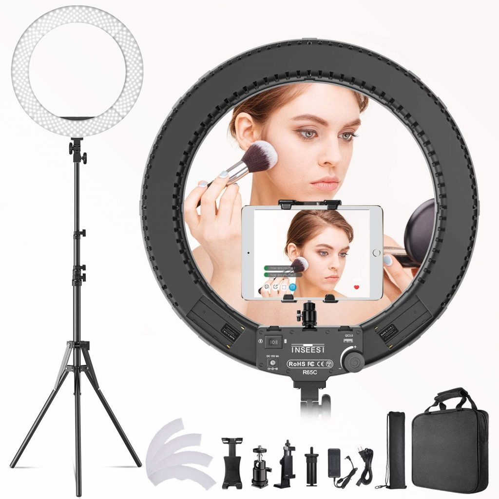 Ring Light 19 inch LED Outer Adjustable Color Temperature