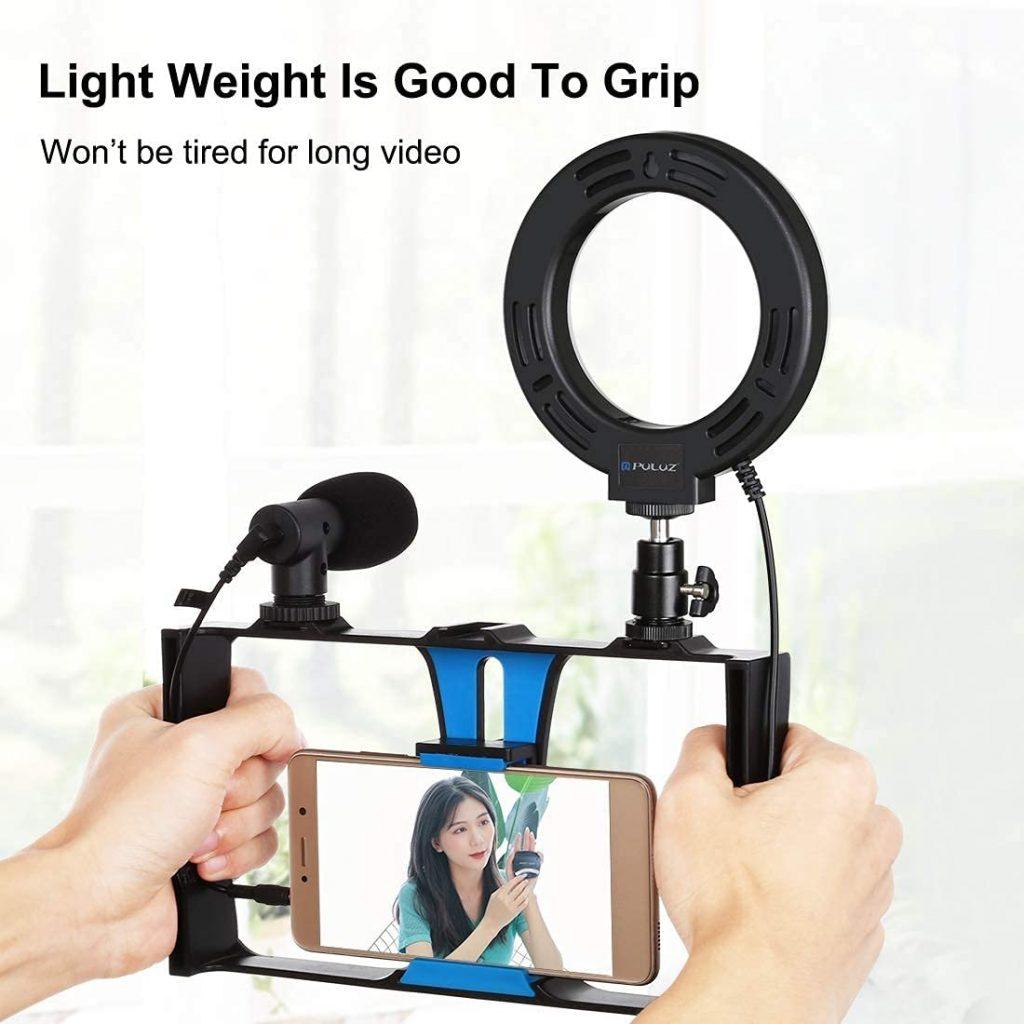 Puluz 4 in 1 Smartphone Video Kit